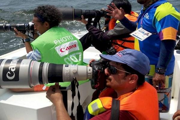 عکاسی جانفرسا از ورزش هیجان انگیز ، بادبان های جذاب در جاکارتا