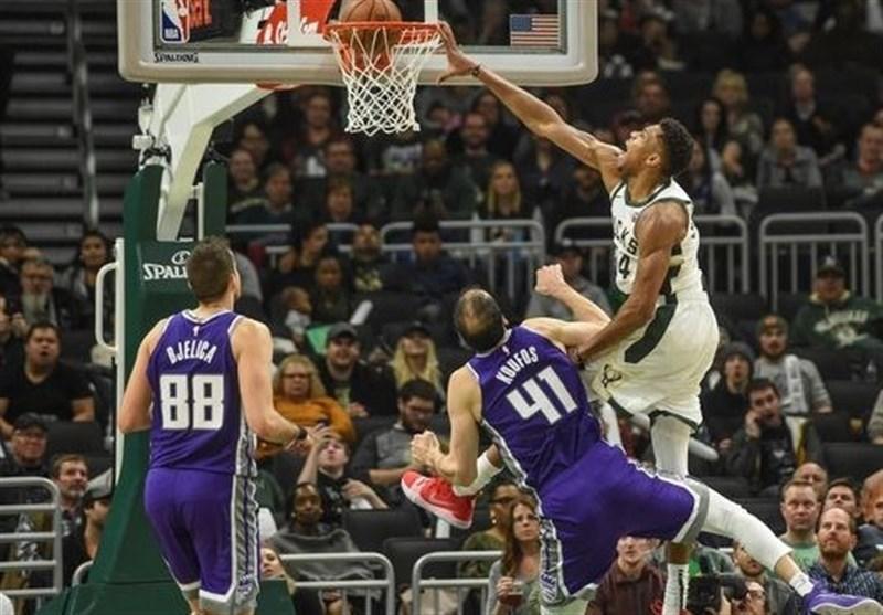 لیگ NBA، پیروزی باکس با درخشش ستاره یونانی، شکست لیکرز در حضور واشنگتن