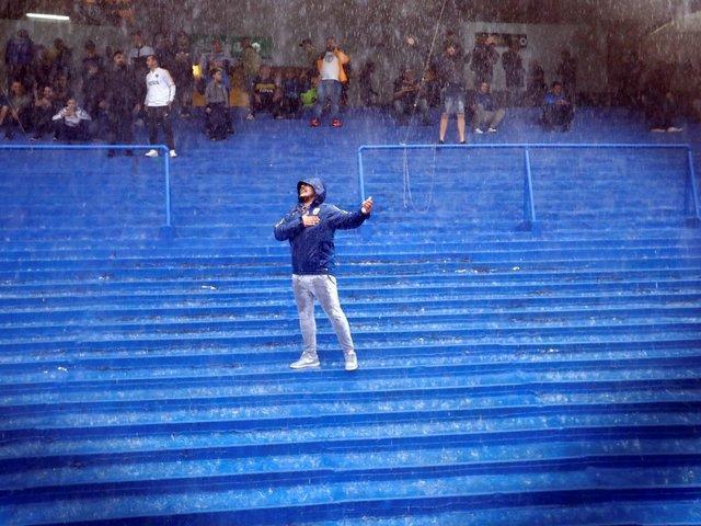 شنبه بارانی دنیا ورزش در قاب تصویر