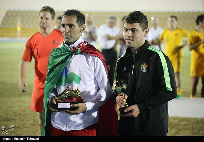 فوتبال هفت نفره قهرمانی آسیا - اقیانوسیه، کفش طلا به کریمی زاده رسید، بازیکن اردن صاحب توپ طلا شد