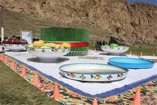 جشنواره نوروزی سفره هفت سین در رفسنجان افتتاح شد