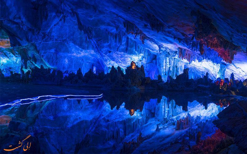 آشنایی با غار رنگارنگ رید فلوت چین