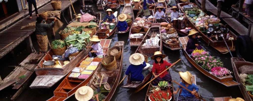 بازار شناور تایلند را بهتر بشناسید