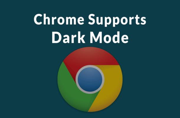تجهیز نسخه دسکتاپ مرورگر گوگل کروم به حالت تاریک