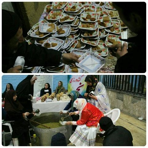 برگزاری جشنواره لبو در شهرستان چناران خراسان رضوی به مناسبت شب یلدا