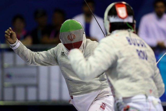 شمشیربازی ایران در بازیهای آسیایی، به دنبال نخستین طلا پس از انقلاب
