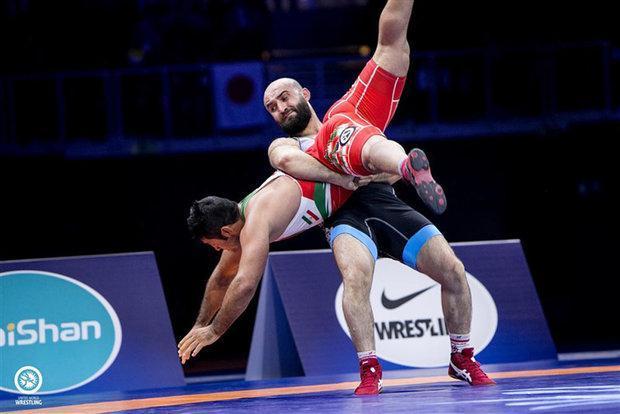فینالیست های چهار وزن نخست مشخص شدند، دو شانس برنز برای ایران
