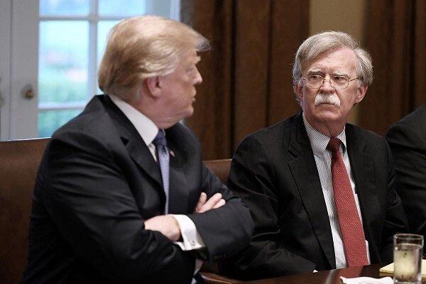 بولتون؛ پرادعای هیچکاره، آیا ترامپ جان را اخراج می کند؟