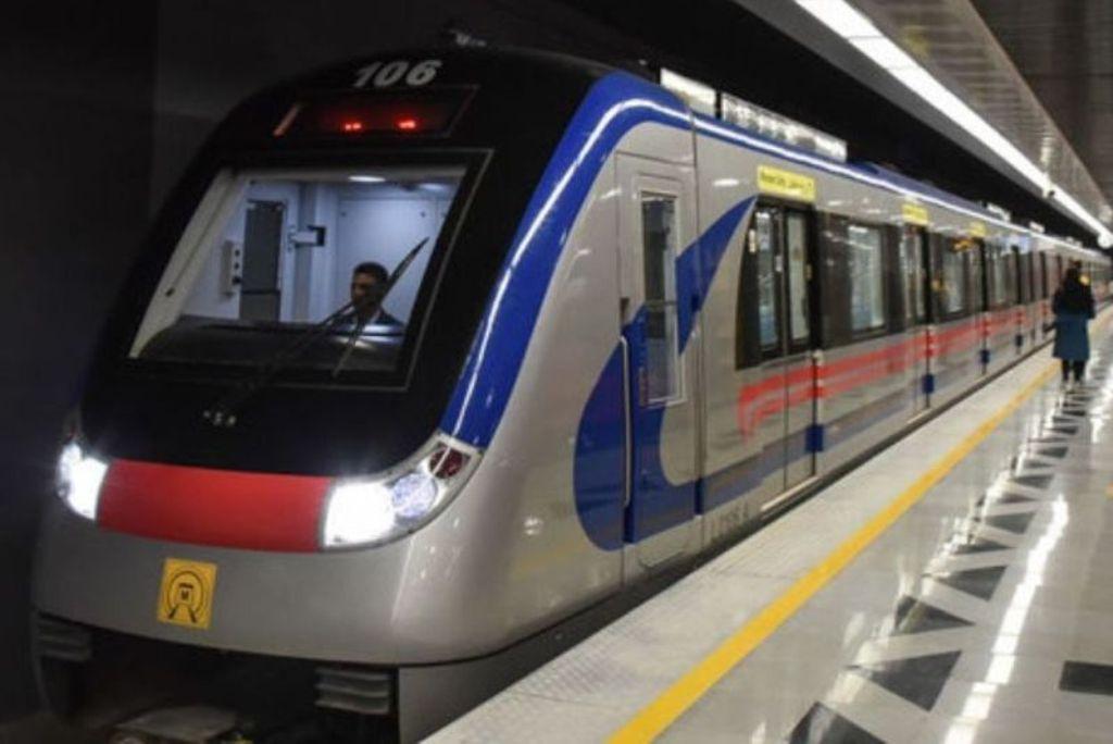انجام موفقیت آمیز تست گرم ایستگاه مترو میدان شهدا تا امام حسین (ع)