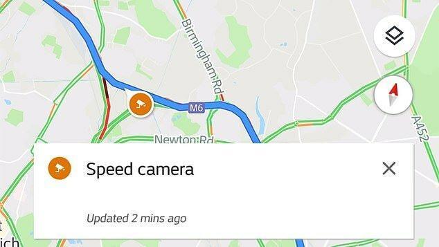 اعلام دوربین کنترل سرعت به گوگل مپ اضافه شد