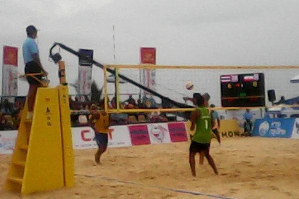 والیبال ساحلی ایران به مدال نقره رسید