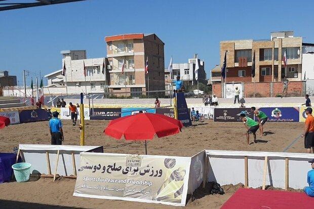 تور جهانی والیبال ساحلی بندرترکمن آغاز شد