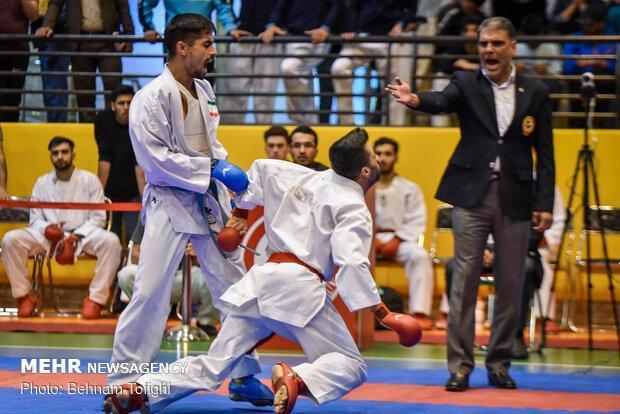 هفت کاراته کای ایرانی در میان 10 نفر برتر دنیا