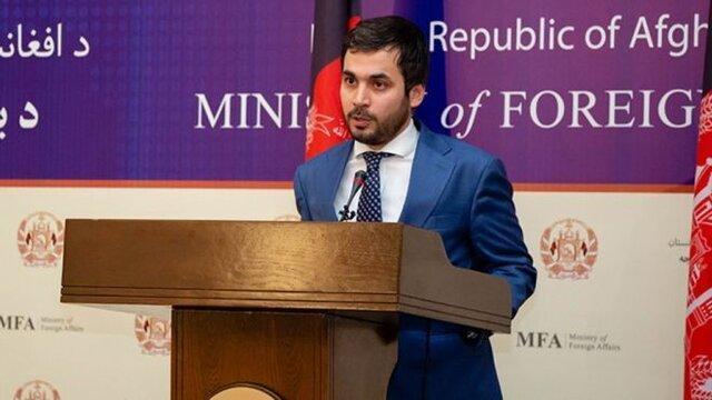سخنگوی وزارت خارجه افغانستان برکنار شد