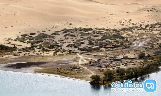 دریاچه ای اسرار آمیز در کویر بدین جرن که از آن بی خبرید!