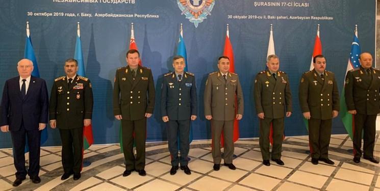 برگزاری نشست شورای وزرای دفاع همسود در شهر باکو