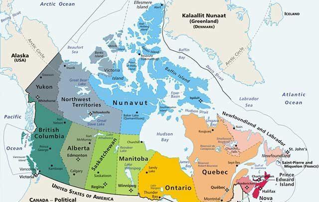 اطلاعاتی در خصوص کانادا و مهاجرت به این کشور