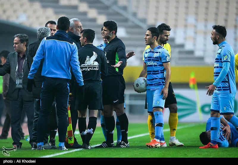 شکایت رسمی باشگاه پیکان تهران از تیم داوری دیدار با سپاهان