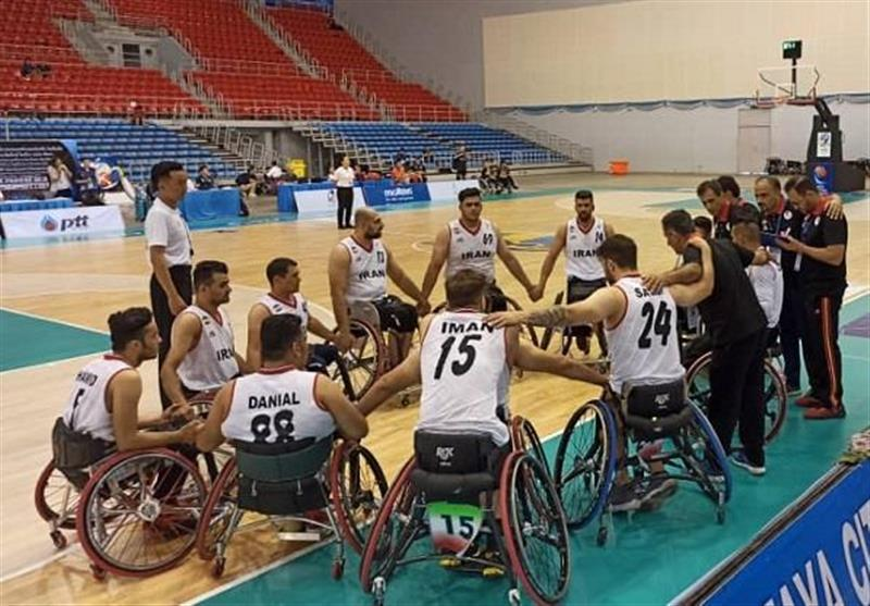 بسکتبال با ویلچر قهرمانی آسیا-اقیانوسیه، ایران مغلوب استرالیا شد