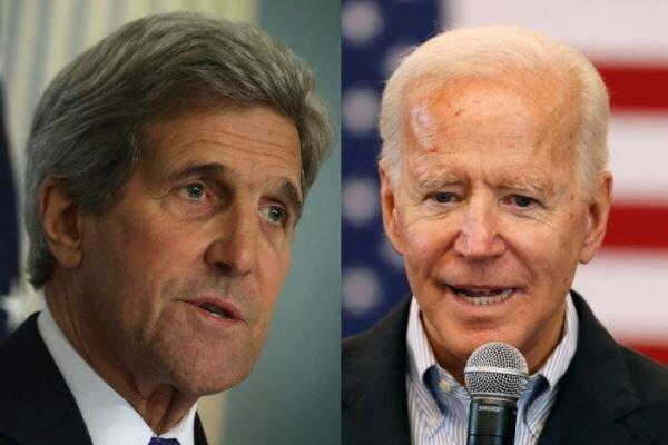 اعلام حمایتجان کری از نامزدی جو بایدن در انتخابات 2020 آمریکا