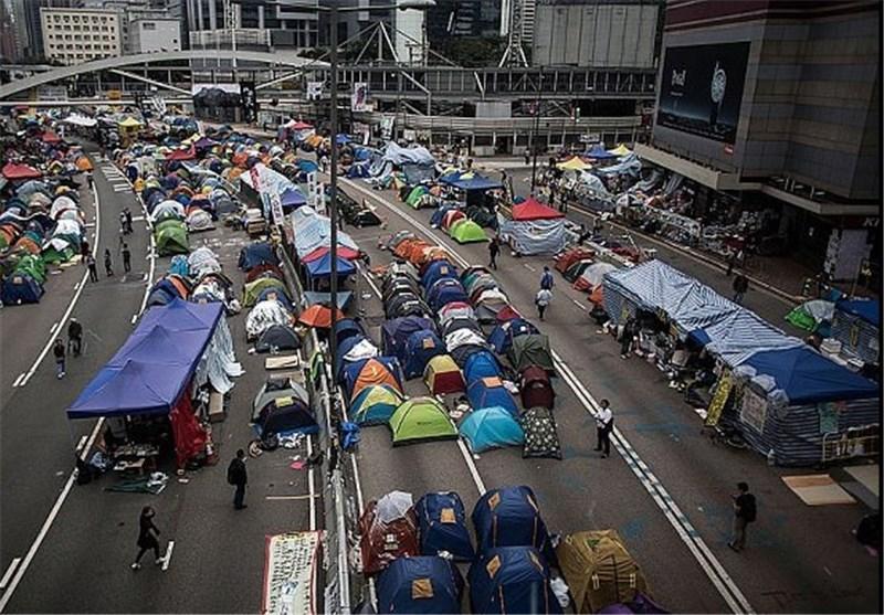 معترضان هنگ کنگی به دنبال تسخیر کنسولگری انگلیس هستند