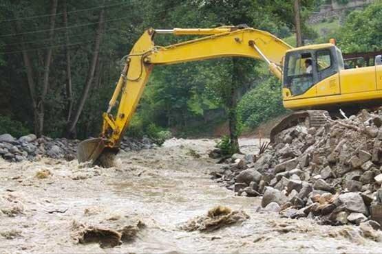 رودخانه های گیلان زخمی برداشت های غیرمجاز شن و ماسه