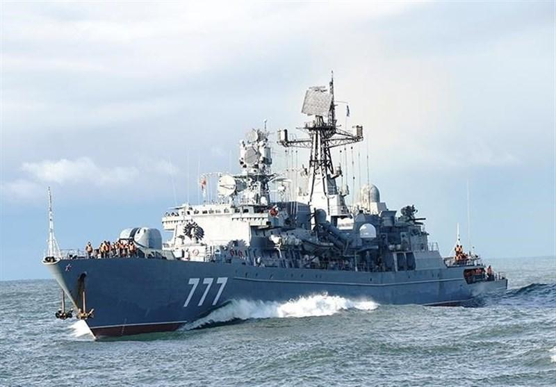 مشارکت 3 کشتی روسیه در رزمایش نظامی مشترک با ایران و چین