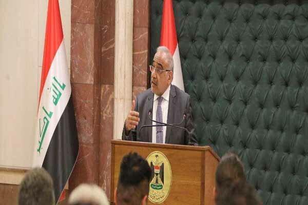انتقاد شدید عبدالمهدی از تحرکات خودسرانه آمریکایی ها در عراق