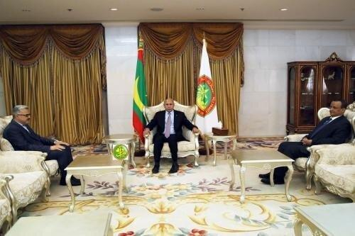 ملاقات سفیر جدید ایران در موریتانی با رئیس جمهور این کشور