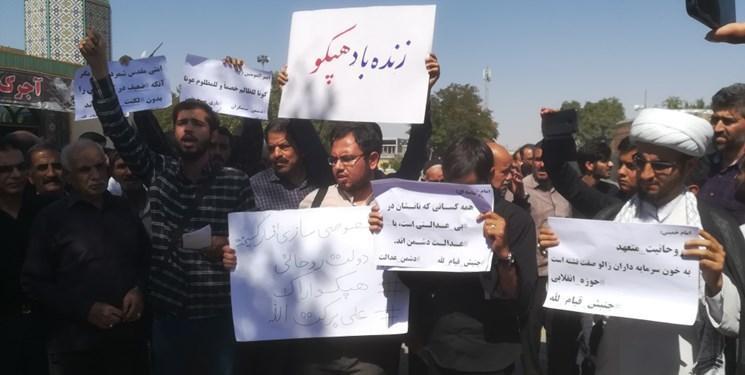 جهاد جنبش دانشجویی علیه بی عدالتی ، چقدر حضور دانشجویان در کنار مردم احساس می شود؟