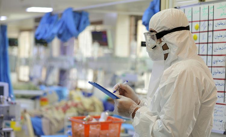کاهش آمار بستری مبتلایان به کرونا در تهران
