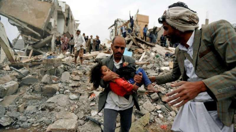 خبرنگاران چهار شهروند یمنی در حمله توپخانه ای مزدوران سعودی کشته شدند