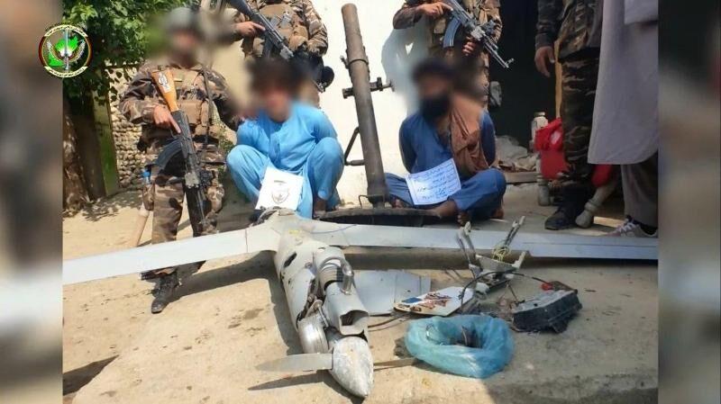 نیروهای امنیتی افغانستان پهپاد طالبان را ضبط کردند