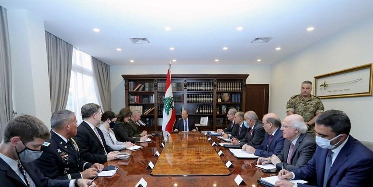 بیانیه سفارت آمریکا در بیروت درباره سفر فرمانده سازمان تروریستی سنتکام به لبنان