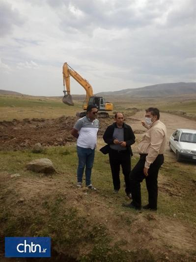 خاک برداری پروژه کمربند طلایی سبلان در حال اجراست