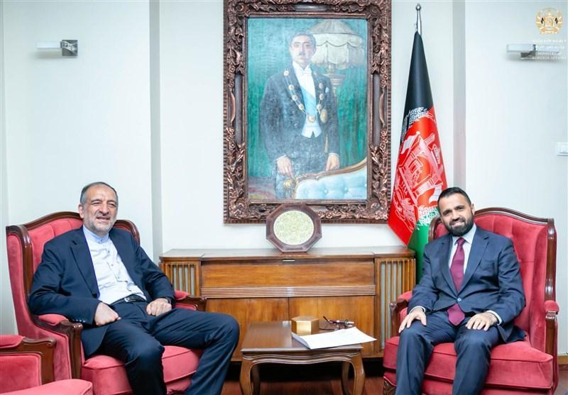 امینیان در کابل: ایران از فرایند صلح افغانستان حمایت می نماید