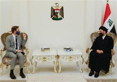 عراق، ملاقات سفیر انگلیس با سید عمار حکیم