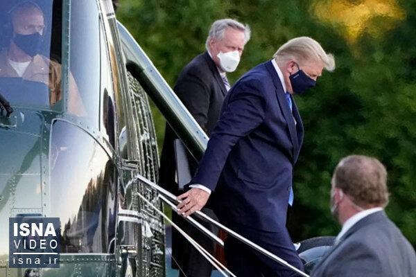 پادتن ویروس کرونا در خون ترامپ یافت شد