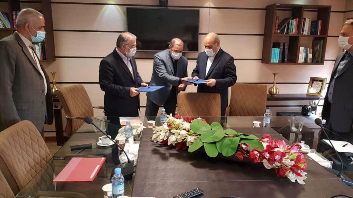 امضای قرارداد راه اندازی سامانه پایش تصویری وثبت تخلفات هوشمند شهری در جزیره قشم