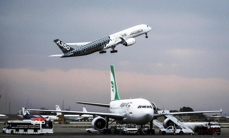 افزایش پرواز های خارجی و بین المللی