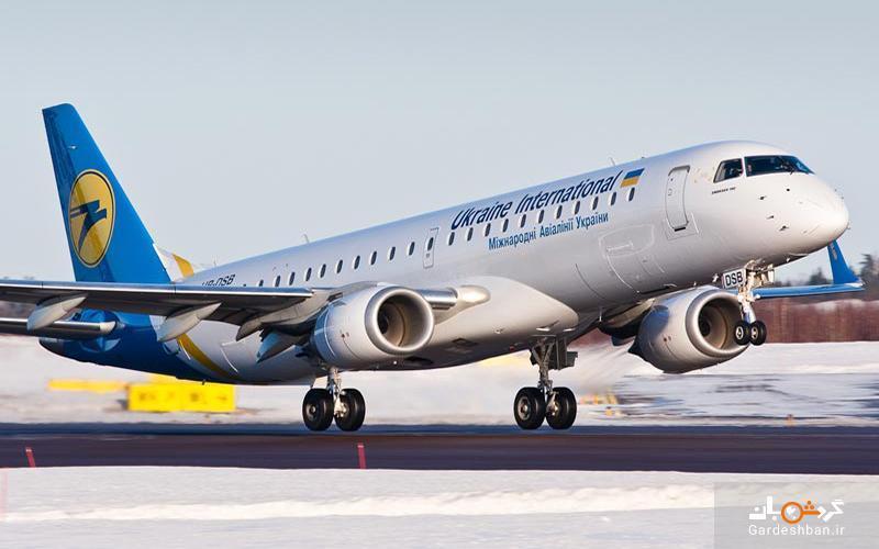 معرفی شرکت هواپیمایی اوکراین اینترنشنال، عکس