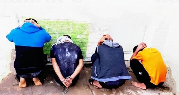 از تعقیب و گریز پلیس در نخلستان ها تا انهدام باند 4 نفره سارقان زورگیر در آبادان