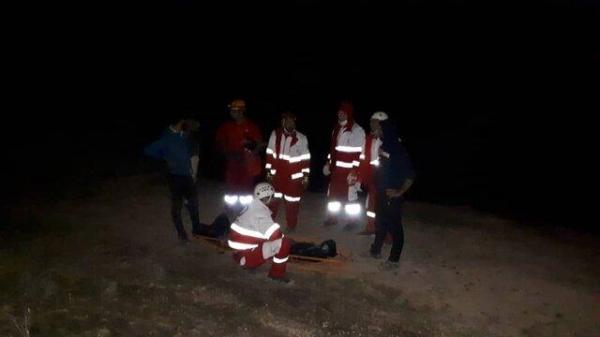 حادثه در کوهستان منطقه دهک ، مصدوم 73 ساله بر اثر ایست قلبی فوت کرد