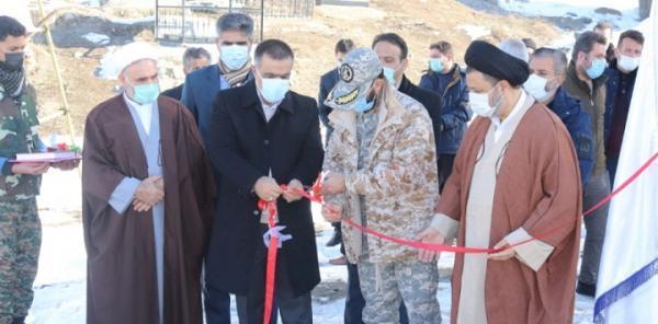 افتتاح طرح بازسازی و سامان دهی پل قلعه جوق ماکو