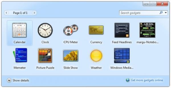 گجت ویندوز چیست و چگونه می توان آن را در ویندوز 10 اجرا کرد؟