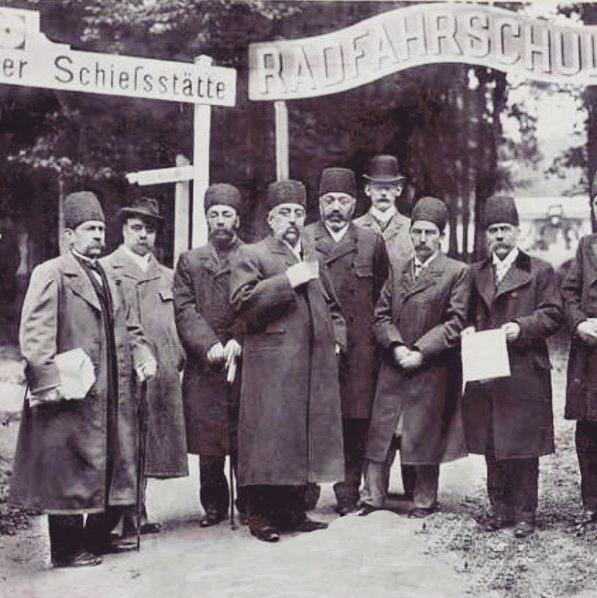 فرنگ گردی ناصرالدین شاه در اتریش