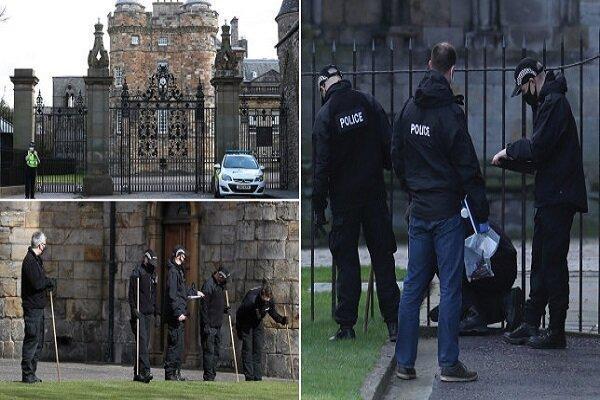 کشف بسته مشکوک به بمب در کاخ ملکه انگلیس، یک نفر بازداشت شد خبرنگاران