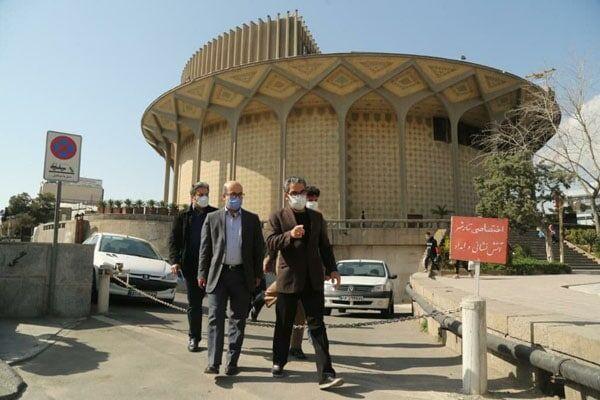 خبرنگاران حل مسائل حریم تئاتر شهر در نشست مشترک شورای شهر و وزارت فرهنگ