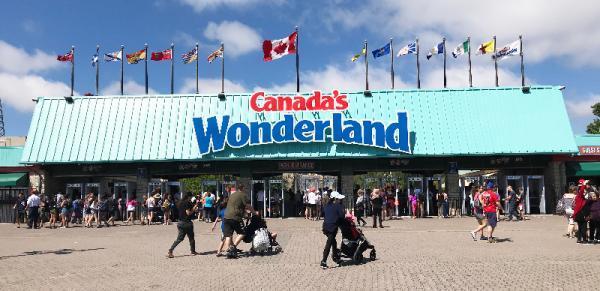 شهربازی واندرلند تورنتو؛ از زیباترین و عظیم ترین شهربازی های جهان، عکس