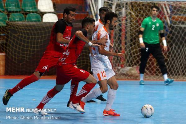 برگزاری بازی حساس لیگ برتر فوتسال در تهران